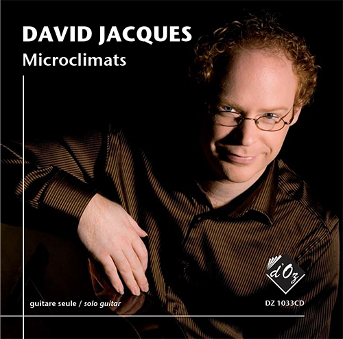 David Jacques - Microclimats CD