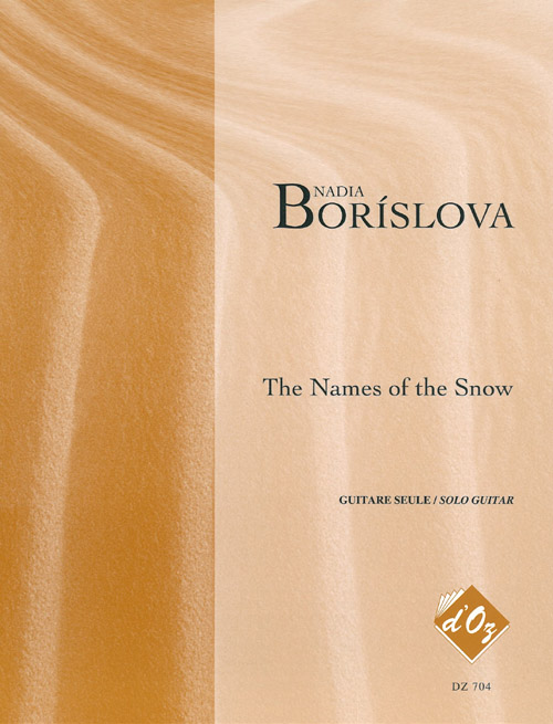 The Names of the Snow