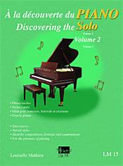À la découverte du piano solo, vol. 2