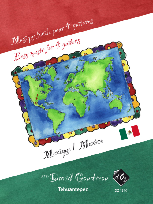 Musique facile pour 4 guitares - Tehuantepec (Mexique)