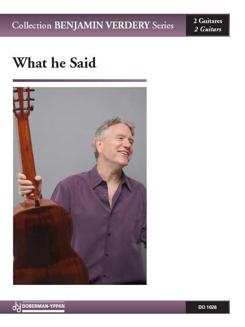 What he Said