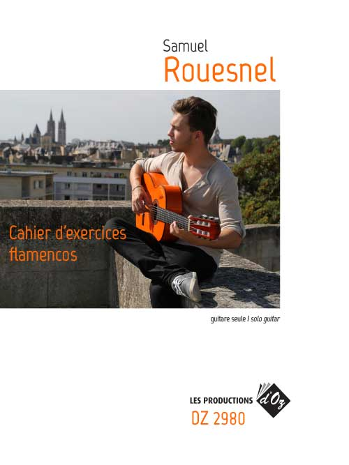 Cahier d'exercices flamencos