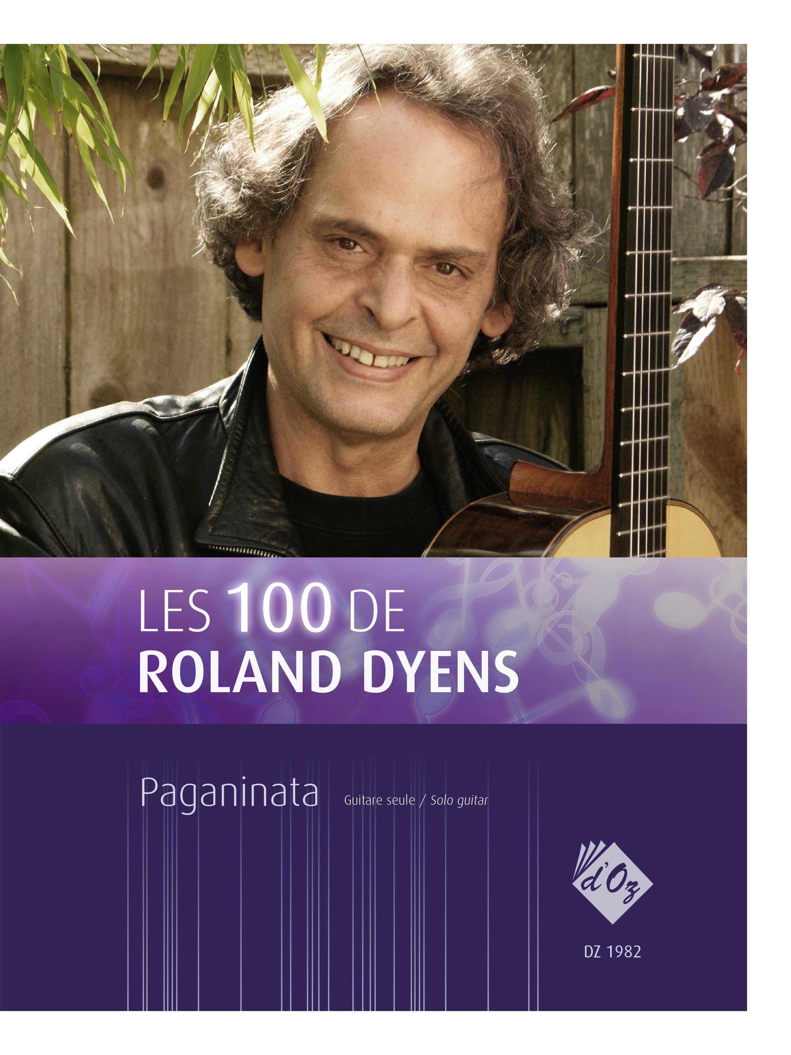 Les 100 de Roland Dyens - Paganinata