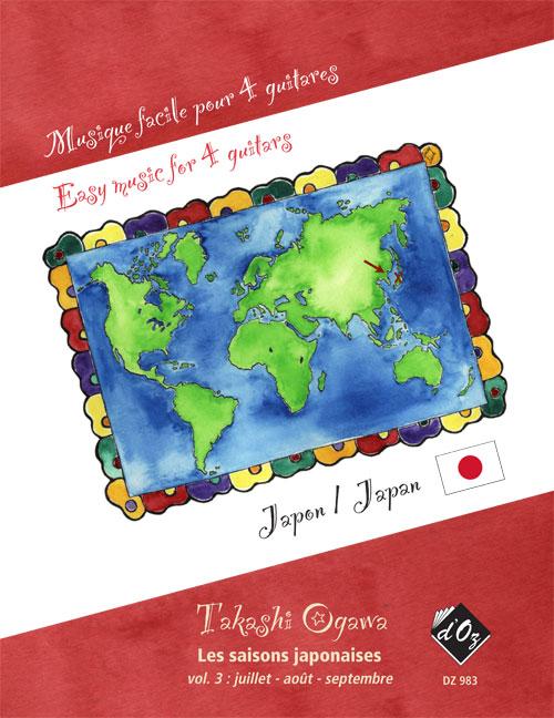 Musique facile pour 4 guitares - Les saisons japonaises, vol. 3 (Japon)
