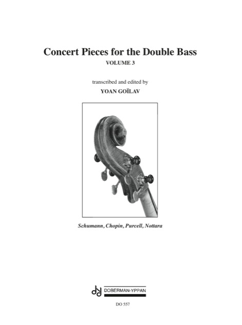Concert Pieces for the Double Bass, Vol. 3