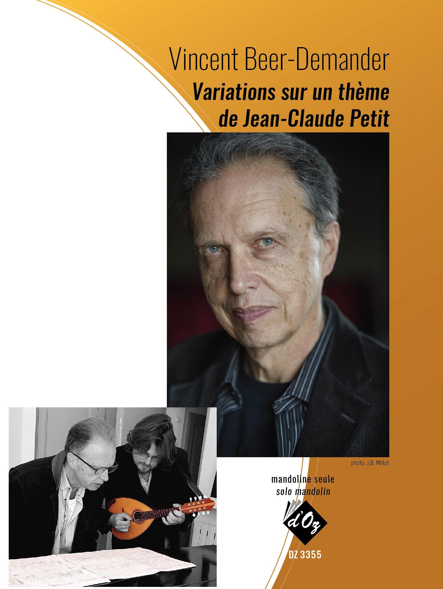 Variations sur un thème de Jean-Claude Petit