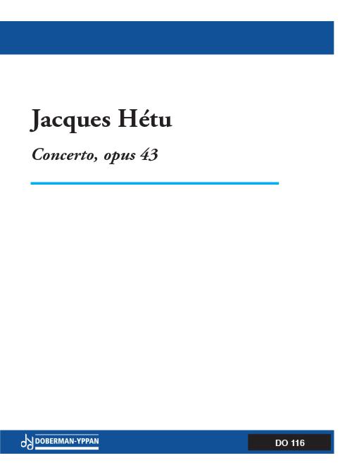 Concerto pour trompette, opus 43 (réduction de piano)