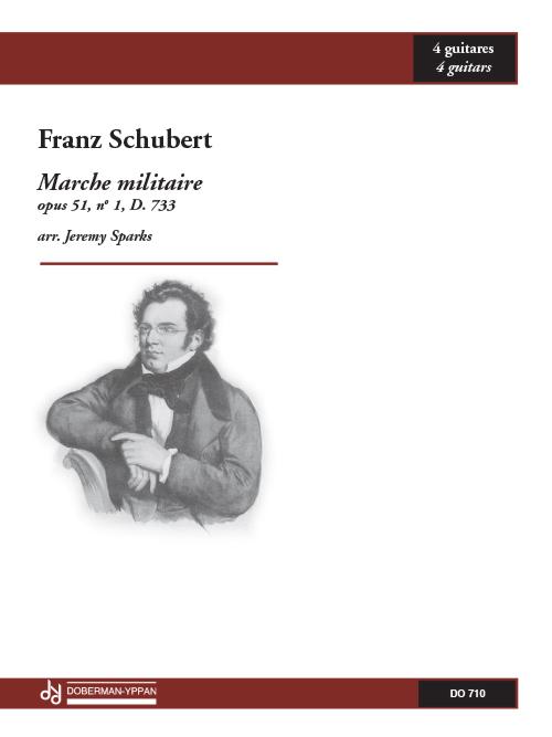Marche militaire, opus 51, no. 1, D. 733