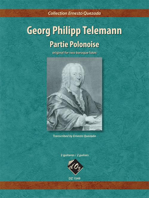 Partie polonaise (orig. for 2 baroque lutes)