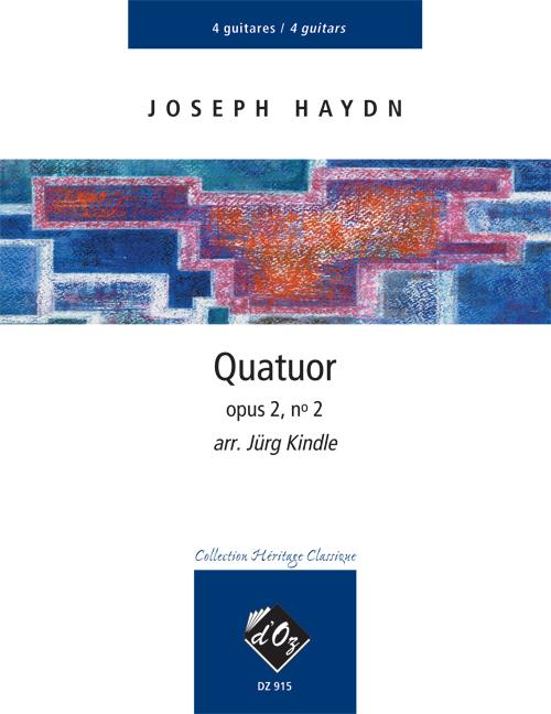 Quatuor opus 2, no 2