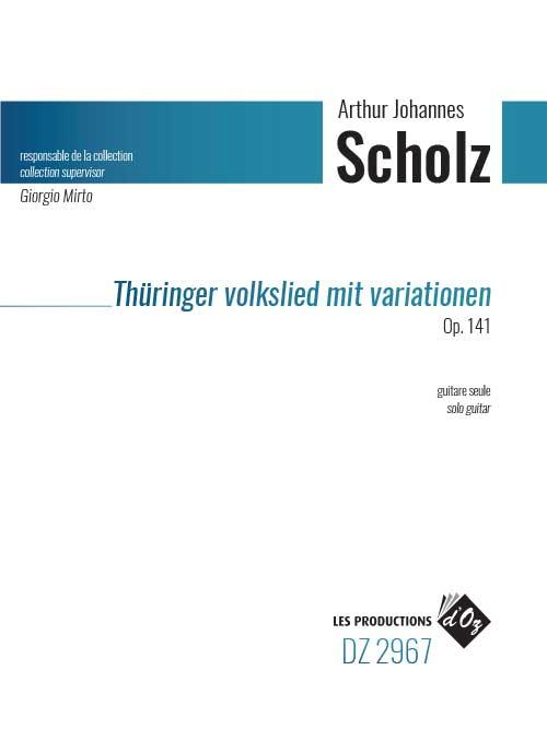 Thüringer Volkslied mit Variationen, Op. 141