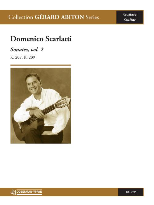 2 Sonates, vol. 2, K. 208, 209