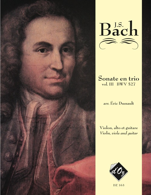 Six sonates en trio, vol. III, BWV 527