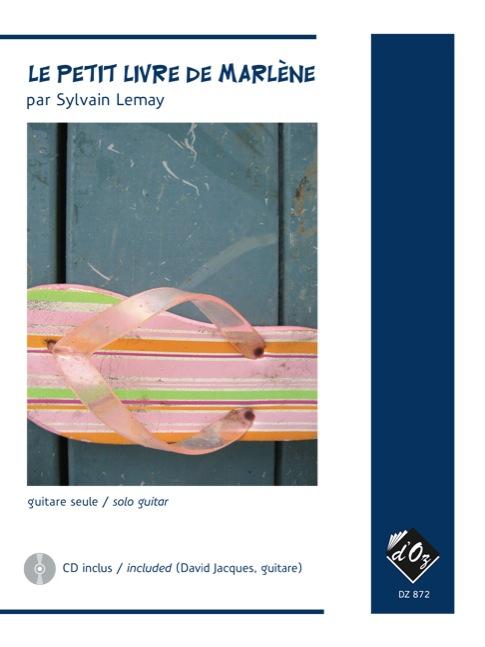 Le petit livre de Marlène (CD incl.)