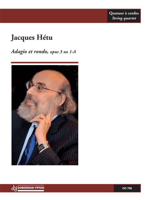 Adagio et rondo pour quatuor à cordes, opus 3, no. 1-A