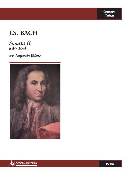 Sonata II, BWV 1003