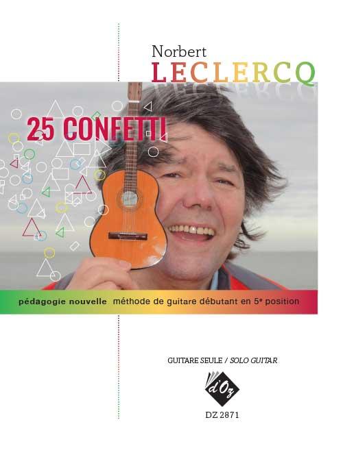 25 Confetti (pédagogie nouvelle - méthode de guitare débutant en 5e position)
