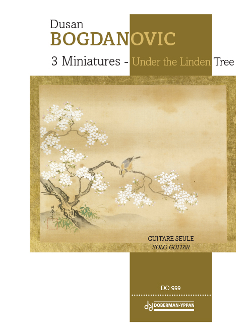 3 Miniatures - Under the Linden Tree
