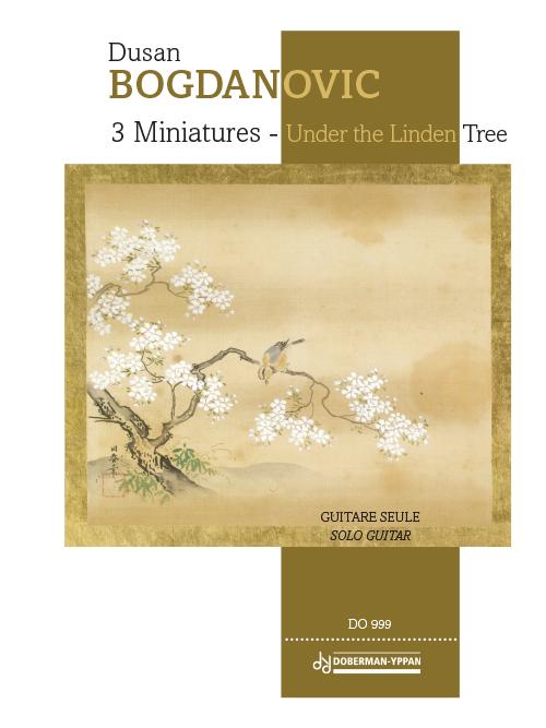 3 Miniatures - Under the Linden Tree
