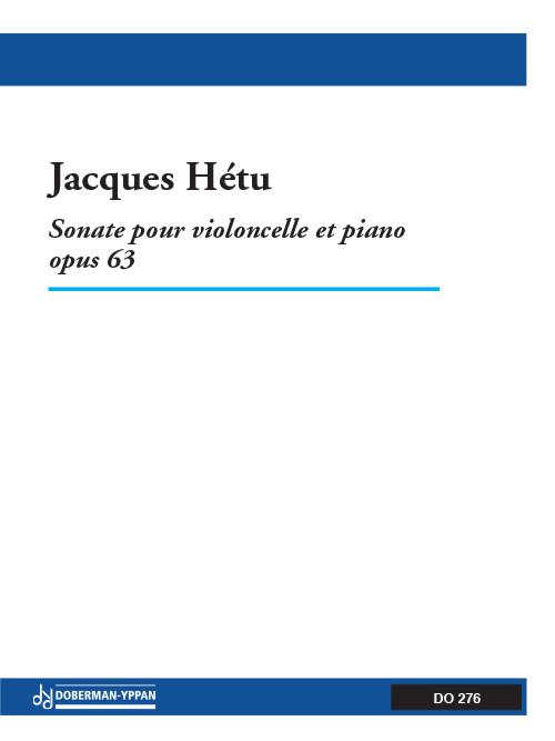 Sonate pour violoncelle et piano, opus 63