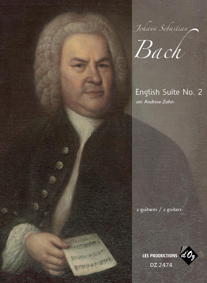 English Suite No. 2 BWV 807