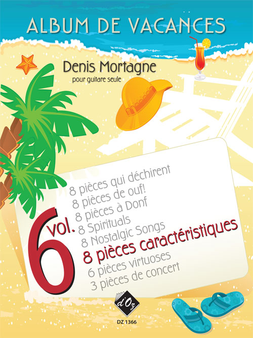 Album de vacances, vol. 6 / 8 Pièces caractéristiques