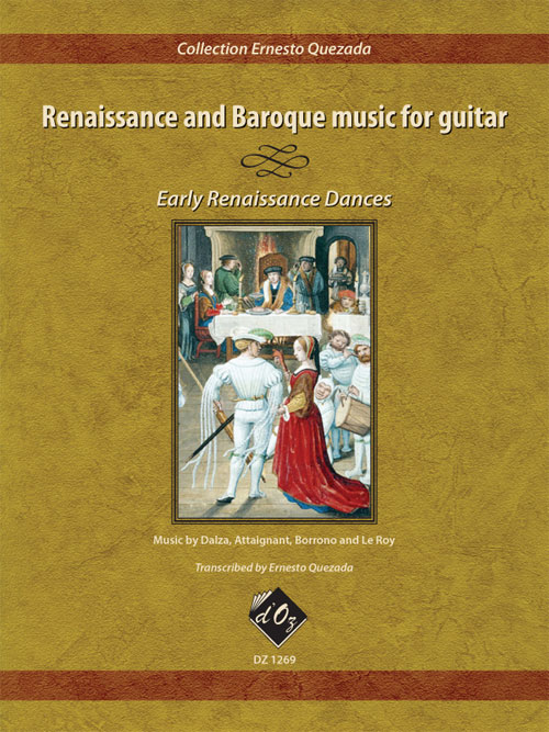 Renaissance and Baroque music for guitar - Early Renaissance Dances