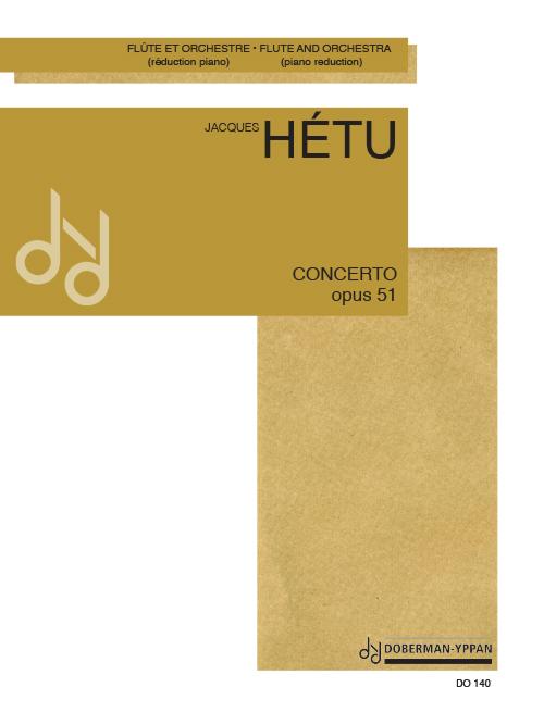 Concerto pour flûte, opus 51 (réduction de piano)