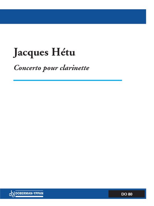Concerto pour clarinette, opus 37