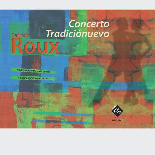 Concerto Tradiciónuevo (score, matériel - PDF)