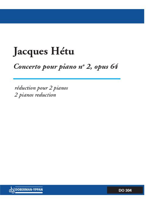 Concerto pour piano, opus 64, no. 2 (réduction pour 2 pianos)
