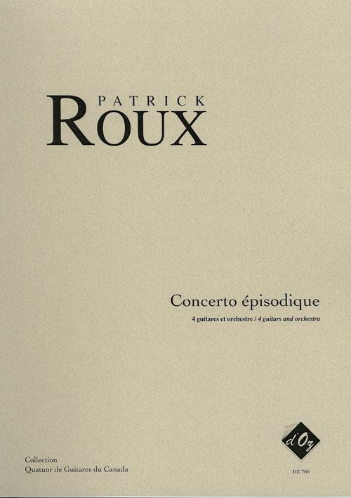 Concerto épisodique (score)