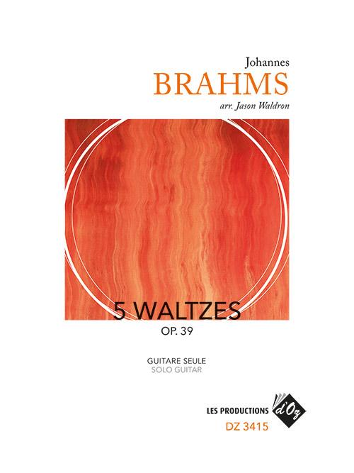 5 Waltzes Op. 39