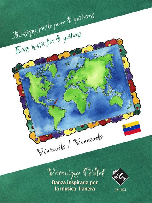 Musique facile pour 4 guitares - Danza (Vénézuela)