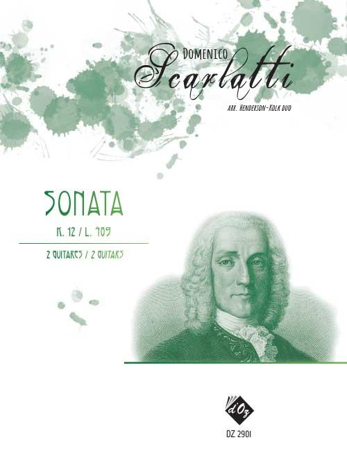 Sonata K.12 / L. 489