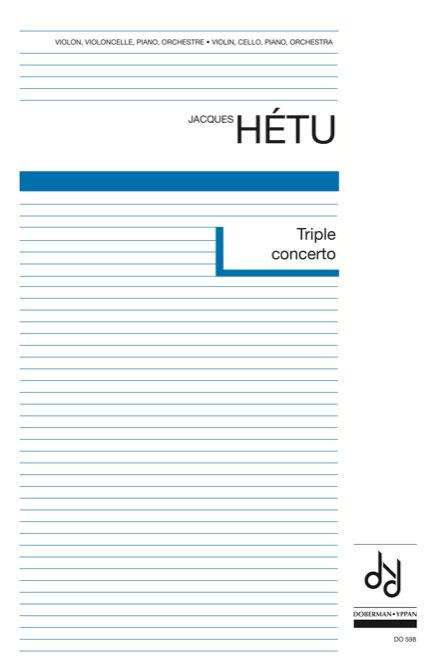 Triple concerto pour violon, violoncelle, piano et orchestre, opus 69 (score)