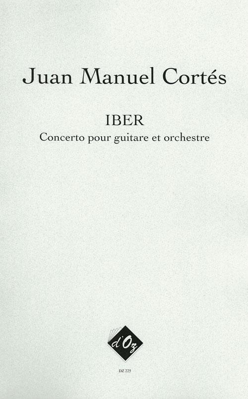 IBER - Concerto pour guitare et orchestre (score)
