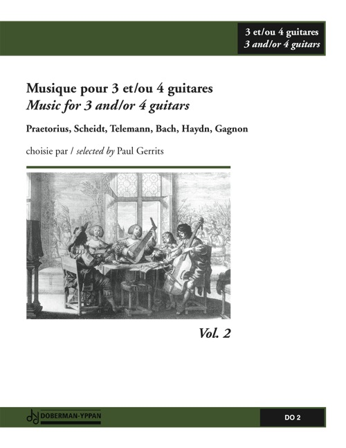 Musique pour 3 et/ou 4 guitares, Vol. 2