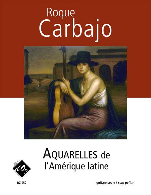 Aquarelles de l'Amérique latine