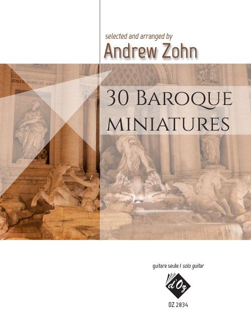 30 Baroque miniatures