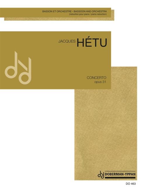 Concerto pour basson, opus 31 (réduction de piano)
