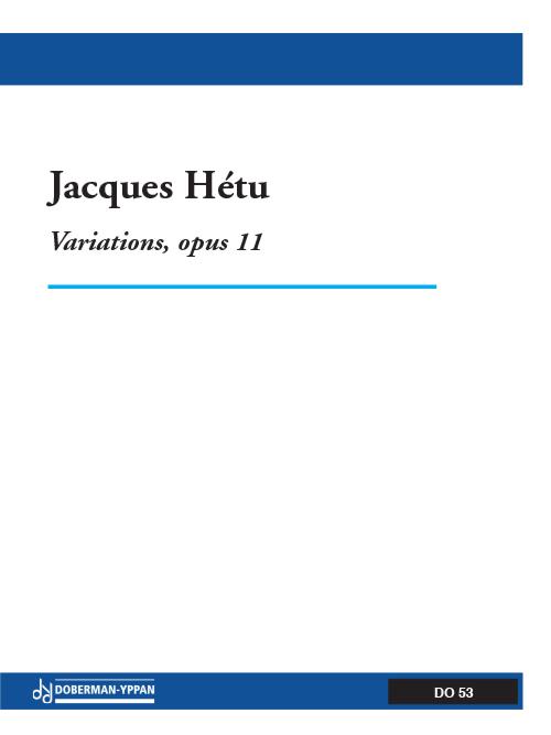 Variations, opus 11