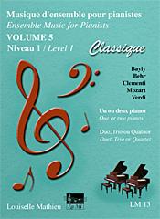 Musique d'ensemble pour pianistes, vol. 5