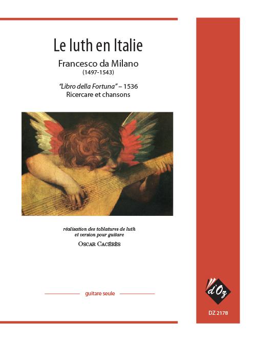 Le luth en Italie - Libro della Fortuna