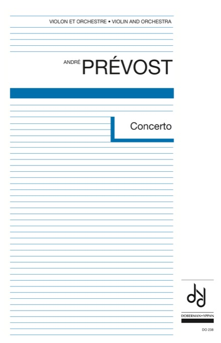 Concerto pour violon (score)