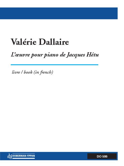 Oeuvre pour piano de Jacques Hétu