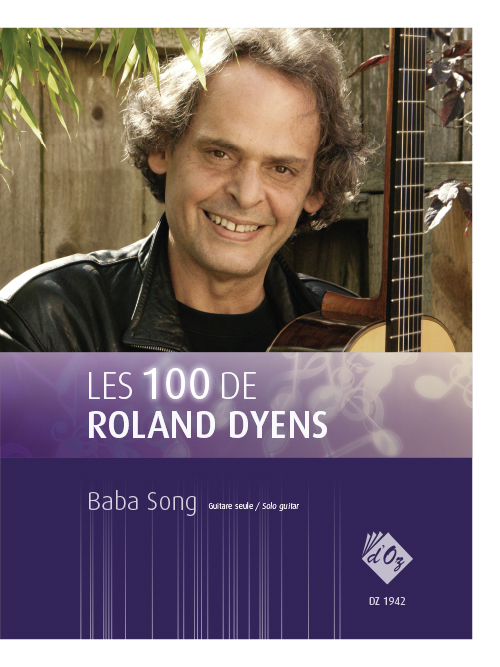 Les 100 de Roland Dyens - Baba Song